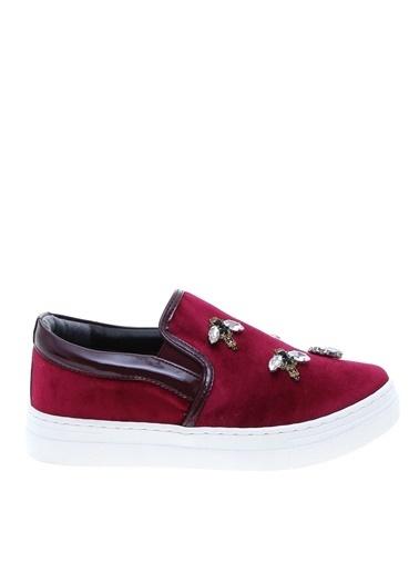 Black Pepper Ayakkabı Bordo